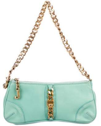 Juicy Couture Embellished Leather Shoulder Bag