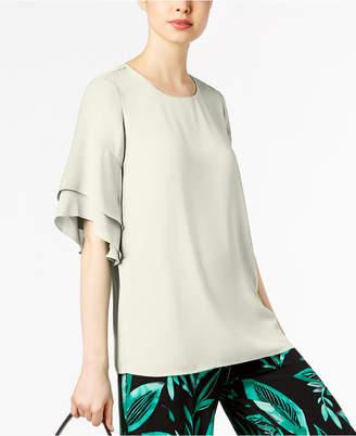 Alfani Ruffled Dolman Sleeve Blouse, Created for Macy's