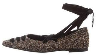 Castaner Rocha Pointed-Toe Flats w/ Tags
