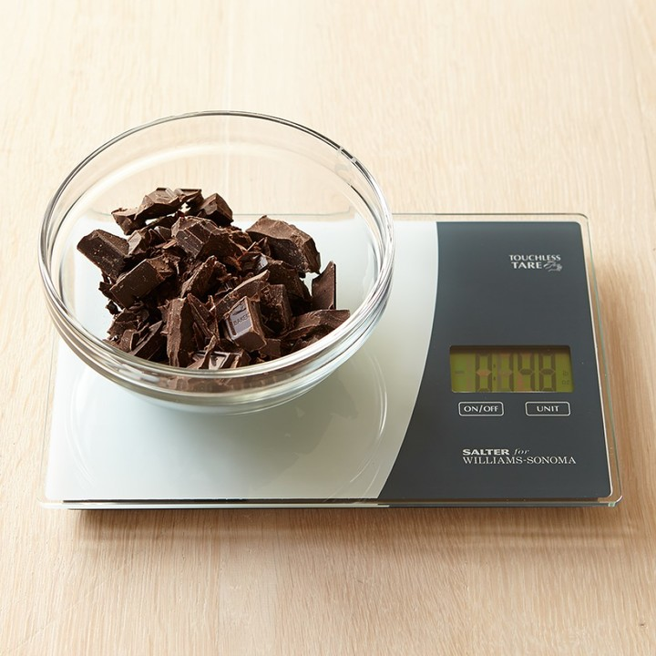 Williams Sonoma Touchless Tare Glass Scale