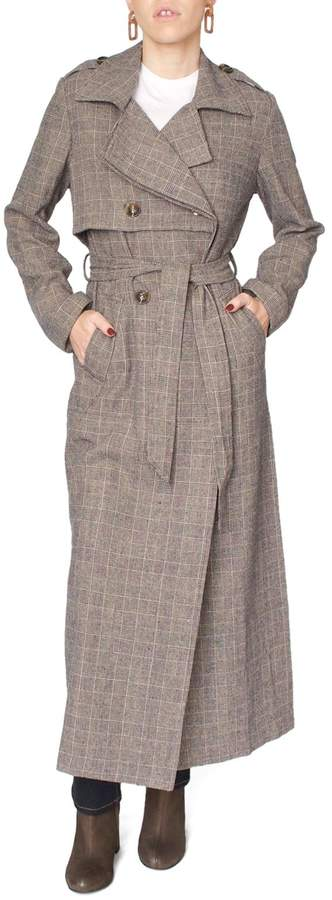 Jovonna Brown Trench Coat