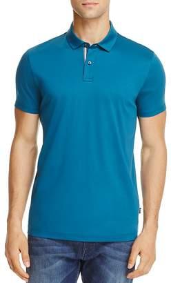 Hugo Boss Press Cotton Regular Fit Polo Shirt $125 thestylecure.com