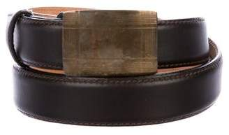 Tiffany & Co. Leather Buckle Belt