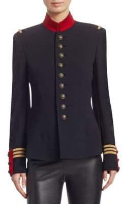 Ralph Lauren Iconic Style The Officer's Double-Faced Wool Jacket