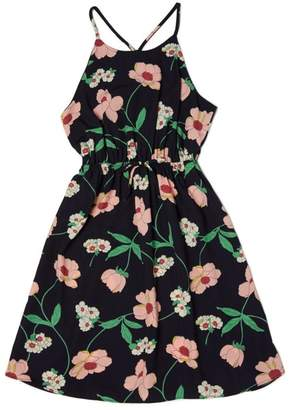 Soprano Navy Floral Sundress