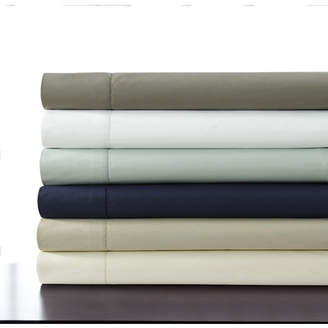 Tribeca Living 500 Thread Count 100% Cotton Percale Extra Deep Pocket Sheet Set