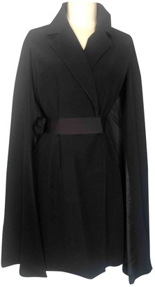 Martine Sitbon Black Wool Jacket for Women