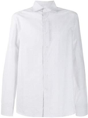 Canali formal shirt with geometric print
