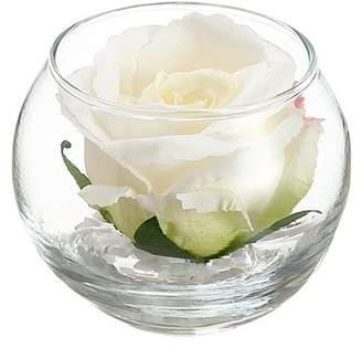 Charlton Home Rose Bloom Floral Arrangement in Vase