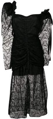 Magda Butrym lace midi dress