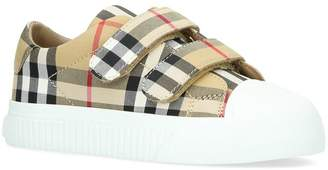 Burberry Belside Vintage Check Sneakers