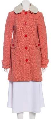 Marc by Marc Jacobs Marc Jacobs Wool Tweed Coat