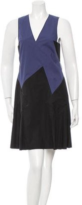 Thakoon Cutout Pleated Dress