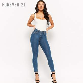 Forever 21 (フォーエバー 21) - Forever 21 ハイウエストスキニージーンズ