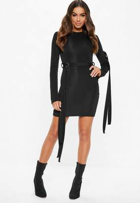 Missguided Fanny Lyckman X Black Parachute Dress