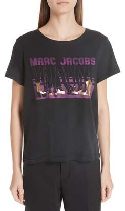 Marc Jacobs Shoe Graphic Tee
