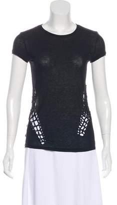 Edun Crew Neck Short Sleeve T-Shirt