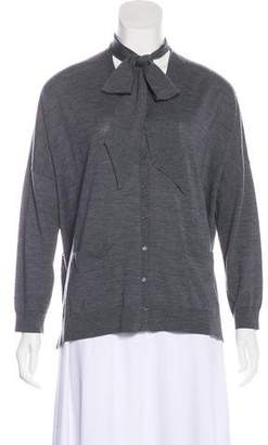 Gerard Darel Wool Knit Cardigan