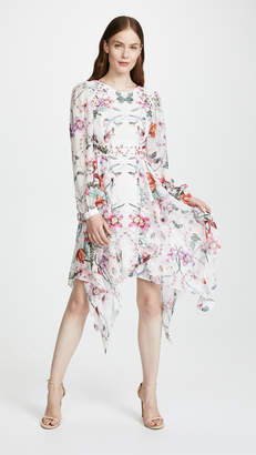 Thurley Poppy Print Layered Dress