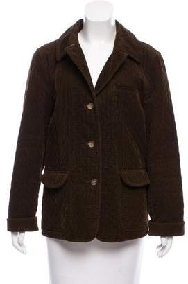 Brooks Brothers Quilted Corduroy Jacket