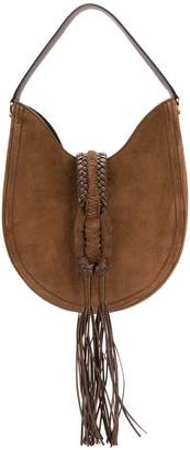 Altuzarra tassel detail hobo bag
