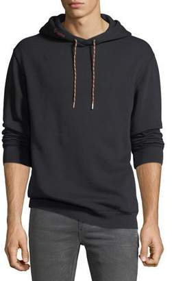 Frame Men's Logo-Print Cotton-Blend Hoodie Sweatshirt
