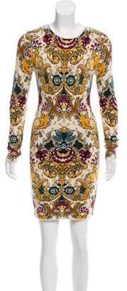 Torn By Ronny Kobo Long Sleeve Knit Dress