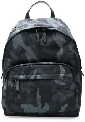 Prada camo nylon backpack