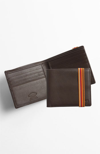 Tod's Leather Bifold Wallet