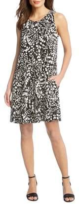Karen Kane Chloe Print A-Line Dress