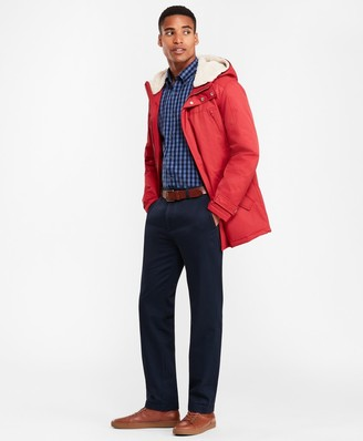 Brooks Brothers Sherpa-Lined Water-Repellent Parka