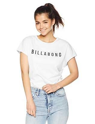 Billabong (ビラボン) - [ビラボン] [レディース] 半袖 ラッシュガード Tシャツ (UVカット)[ AJ013-866 / RASH TEE ] 海 おしゃれ 水陸両用 BLK_ブラック US M (日本サイズM相当)