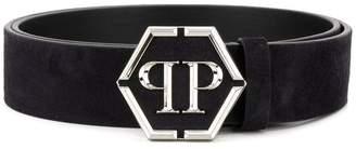 Philipp Plein Statement logo belt