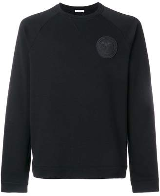 Versace chest logo sweatshirt
