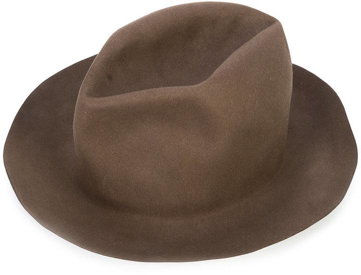 Horisaki Design & Handel classic fedora hat