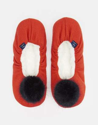 Joules 125040 Ballet slipper with Pom Pom