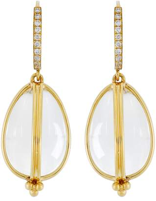 Temple St. Clair Dia Classic Amulet Drop Earrings