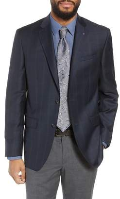 Ted Baker Jay Trim Fit Houndstooth Wool Sport Coat
