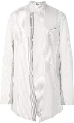 Lost & Found Ria Dunn asymmetric button-down shirt