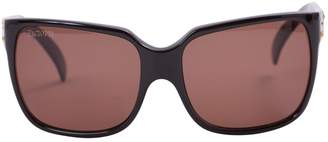 Cesare Paciotti Brown Plastic Sunglasses