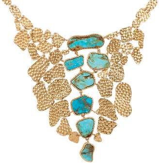 Christina Greene - Mosaic Necklace in Turquoise