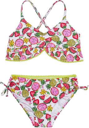 Hula Star Fruity Floral Two-Piece Swimsuit