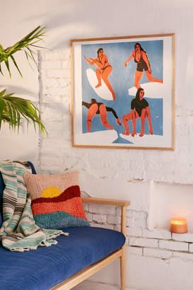 Leah Reena Goren Surfers Art Print