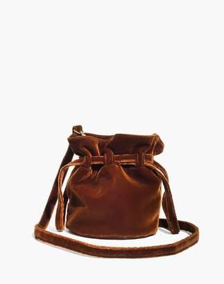Madewell The Florence Drawstring Crossbody Bag in Velvet