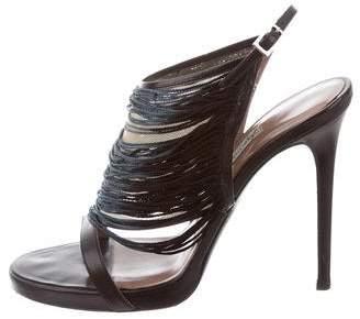 Tabitha Simmons Giselle Fringe Sandals