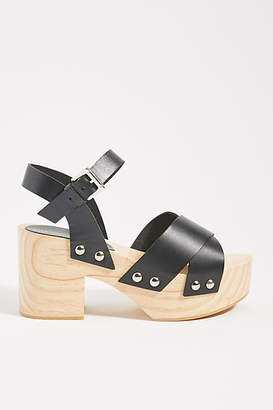 Intentionally Blank Twin Platform Sandals
