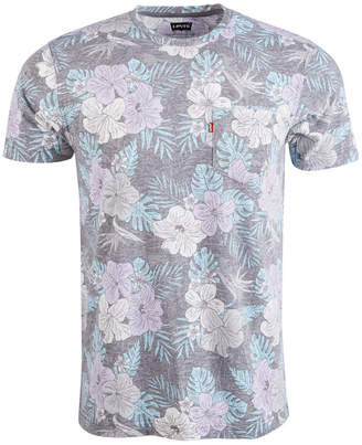 Levi's Men Floral Pocket T-Shirt