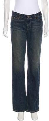 Adriano Goldschmied The Gemini Wide-Leg Mid-Rise Jeans