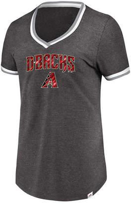 Majestic Women's Arizona Diamondbacks Driven by Results T-Shirt