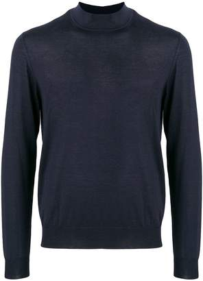 Giorgio Armani slim-fit cashmere turtleneck sweater